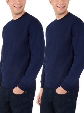 Fruit of the Loom Men's Eversoft Crewneck Sweatshirt, 2 Pack