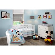 Disney Let's Go Mickey Infant Bedding Collection - Value Bundle