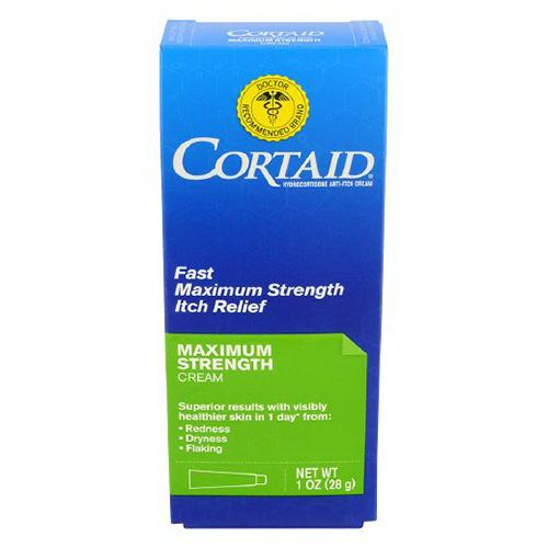 Cortaid Hydrocortisone Maximum Strength Anti-Itch Cream - 1 oz