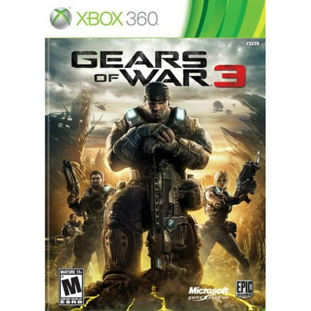 Refurbished Gears Of War 3 With Manual And Case