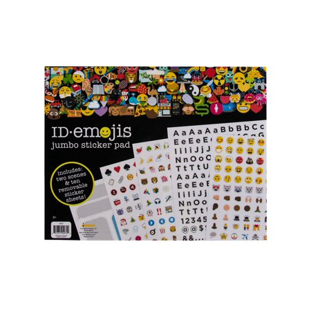 1000 Plus ID Emoji Stickers Icon Faces Sticker Book Pad Letters Numbers For Kids Adults Teachers
