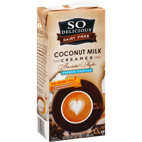 So Delicious Dairy Free Coconut Milk Creamer