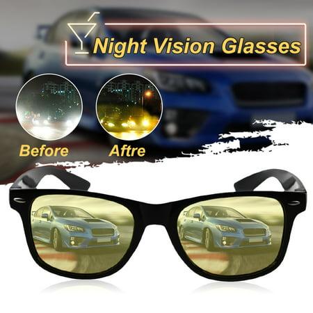 Polarized Night Vision Yellow Lens Glasses Sunglasses Driving Riding Sport (Horseback Riding Sunglasses)
