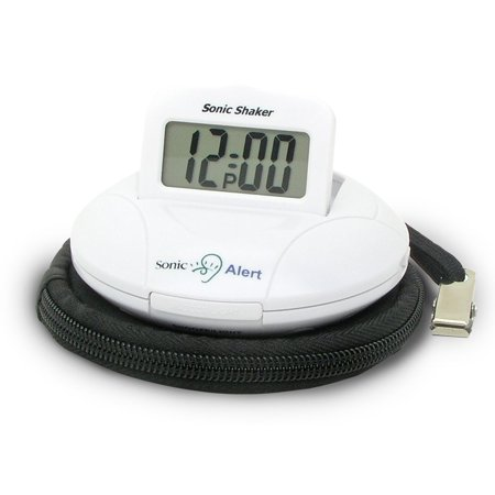Alarm Clock For Kids, Sonic Alert Sbp100 Digital Bedside Small Loud Alarm Clock