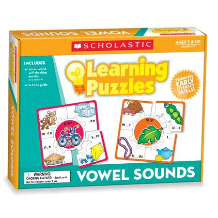 Vowel Sounds Learning Puzzles](Variant Vowels)