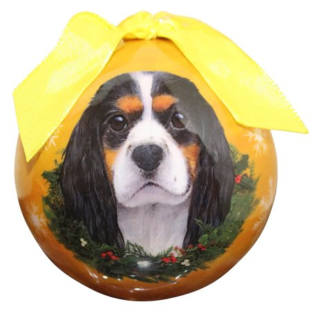 - King Charles Christmas Ornament Shatter Proof Ball Easy To Personalize A Perfect Gift For King Charles Lovers, High quality shatter-proof ornament By E&S Pets