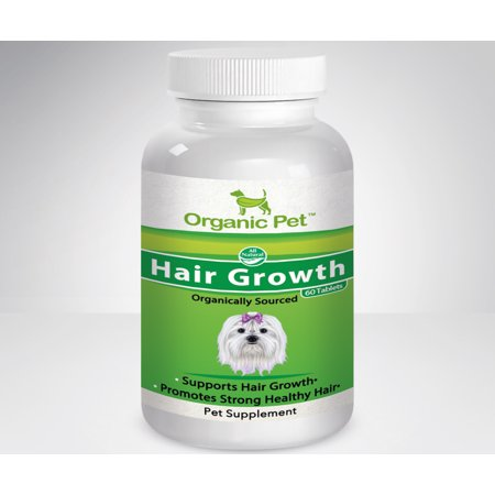 Organic Pet Supplement For Dogs & Cats - Hair Growth & (Pet Organic Cotton)