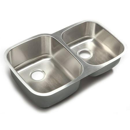 Your Sink Warehouse Designer Collection 32.25-inch 18-gauge 60/40 ...