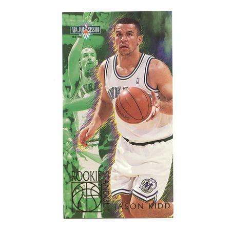 8ff4bac4ec61 1994-95 Fleer Jam Session  5 Jason Kidd Rookie Standouts Mavericks Rookie  Card - Walmart.com
