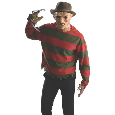 - Halloween Adult Freddy Shirt with Mask