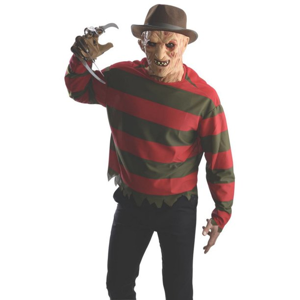 Halloween Adult Freddy Shirt with Mask