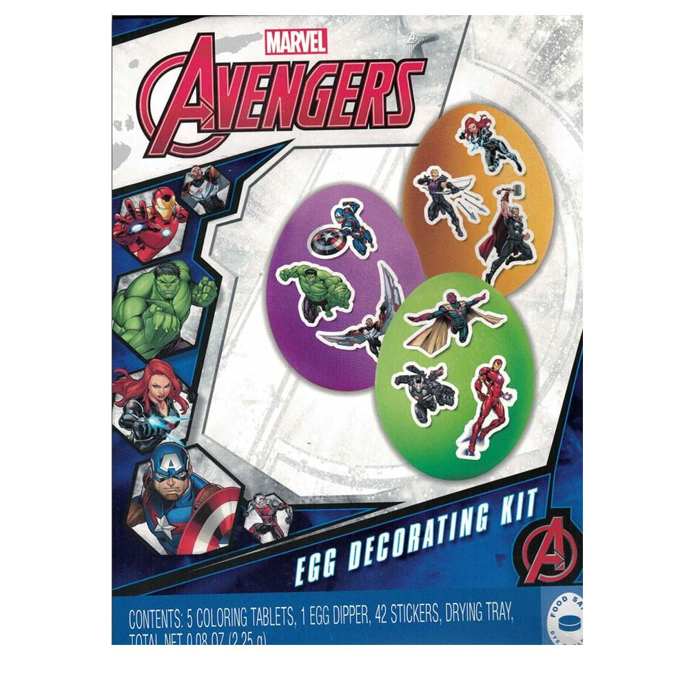 Avengers Easter Egg Decorating Kit