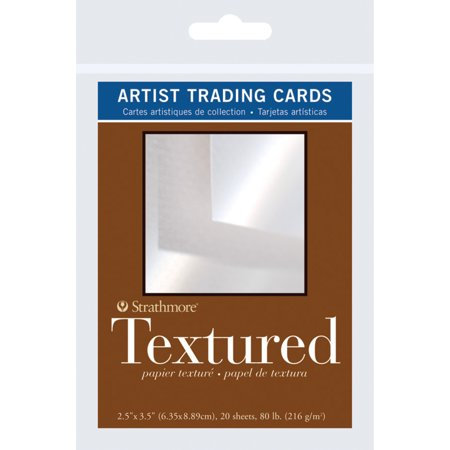 Strathmore Artist Trading Card Pack, Textured Paper, 20 Sheets - Halloween Coloring Sheets And Puzzles