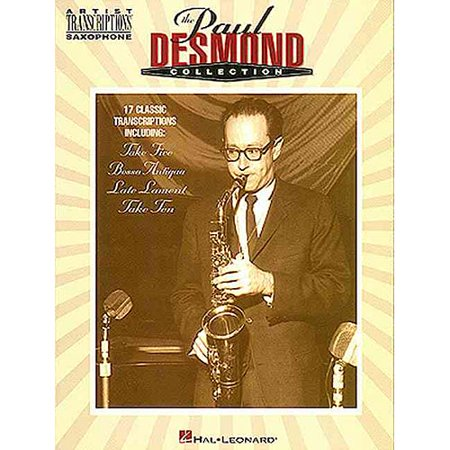 The Paul Desmond Collection: Alto Saxophone by