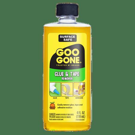 Goo Gone Glue & Tape Remover, 4 fl oz