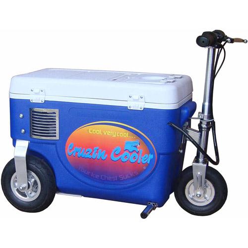 Cruzin Cooler 300W Scooter, Blue by Cruzin Cooler