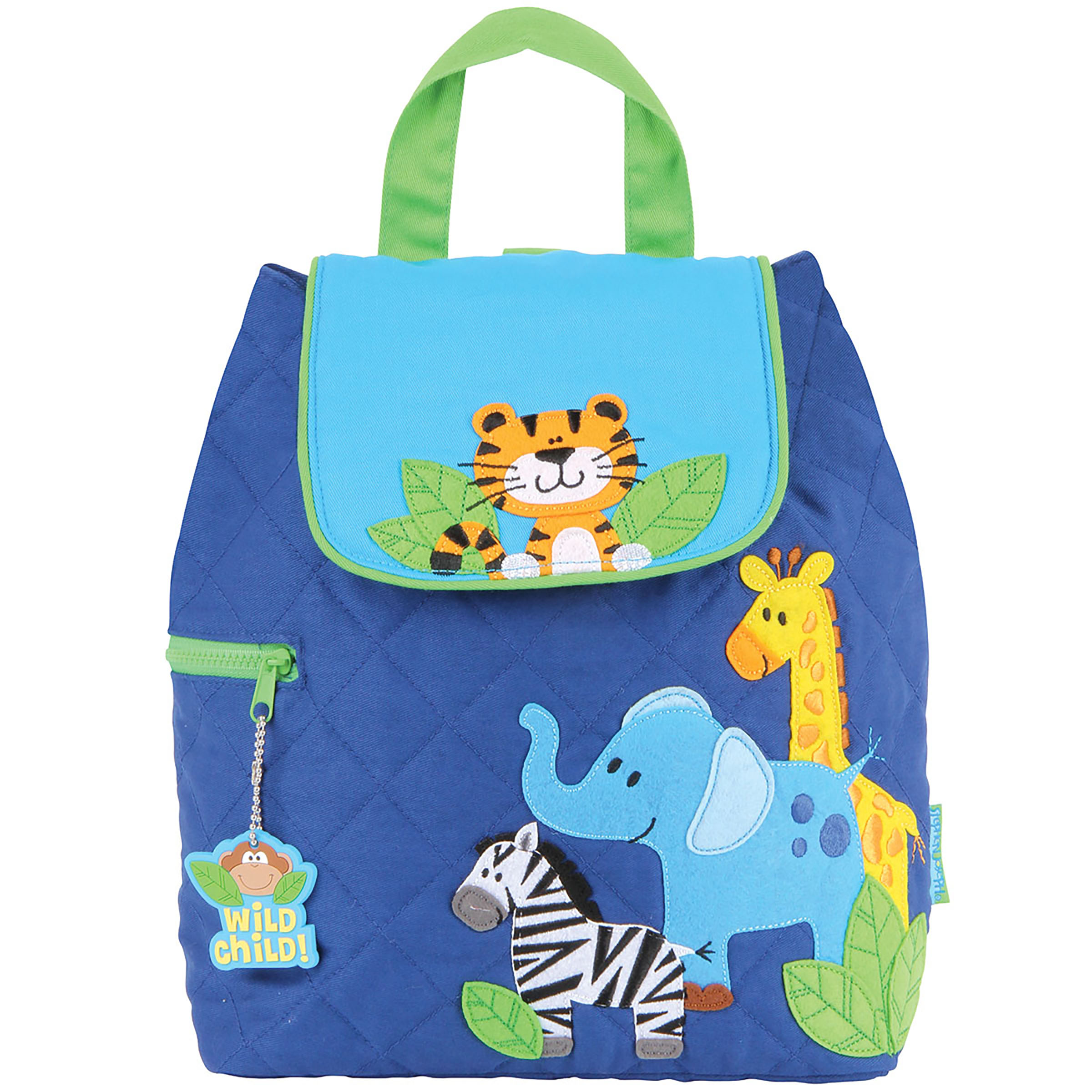 JUNGLE SNAKE Quilted Backpack Personalized and Embroidered