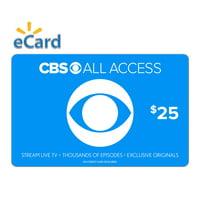 CBS All Access eGift Cards