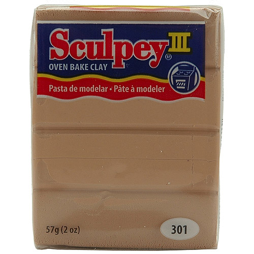 Sculpey Polymer Clay Tan