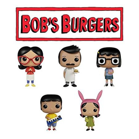 Linda Bobs Burgers (POP Animation: Bobs Burgers Bob, Linda, Tina Gene and Louise Figures Set of)