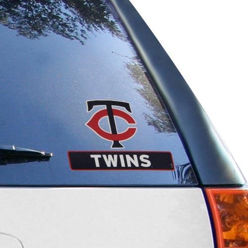"Minnesota Twins 4"" x 5"" Perfect Cut Decal - No Size"