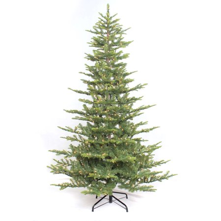 4 1/2 ft. Pre-lit Aspen Green Fir Artificial Christmas Tree 250 UL listed Clear