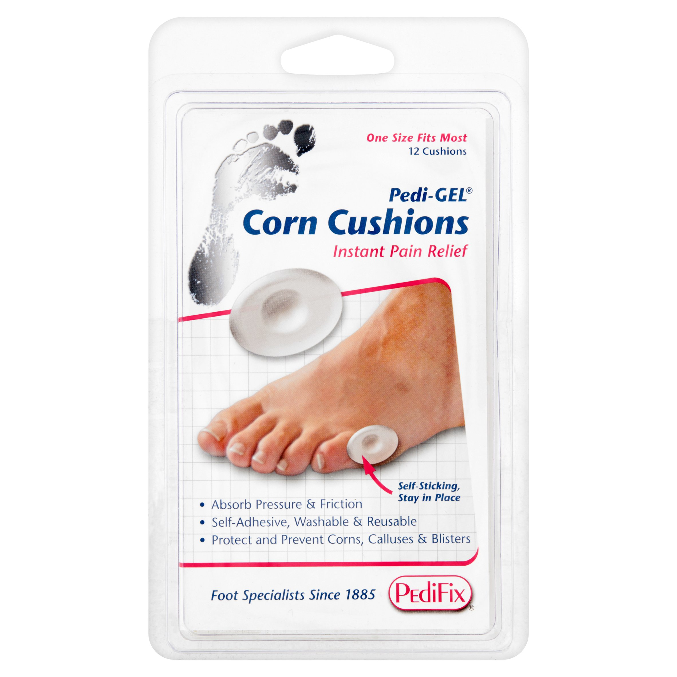 PediFix Pedi-GEL Corn Cushions, 12 count