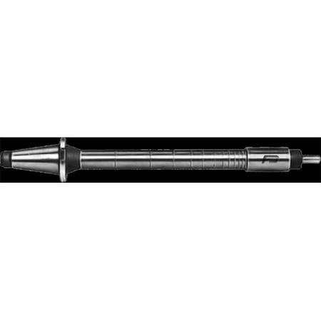 - 7/8 A10 Milling Machine Arbor - 0.875 Bore dia. x 10 Length Shoulder to Nut x No.40 Taper Shank