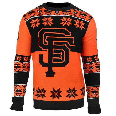 "San Francisco Giants MLB Mens ""Big Logo"" Ugly Sweater by"
