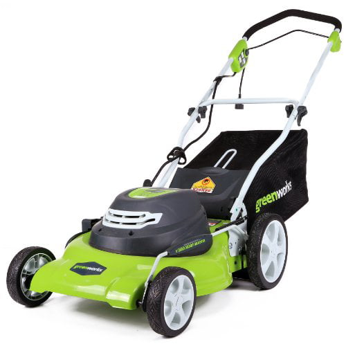 GreenWorks 25022 12 Amp Corded 20-Inch Lawn Mower by