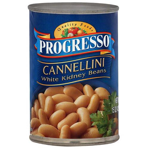 Progresso Cannellini White Kidney Beans, 15 oz (Pack of 12)