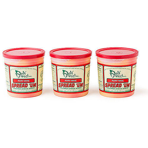 Deli Direct Spread 'Um Port Wine Cheese Spread, 45 oz