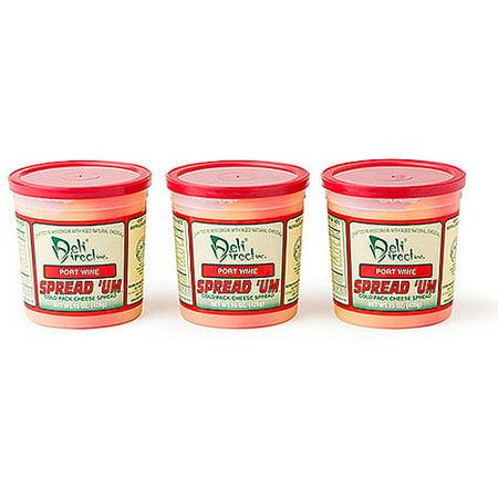 Deli Direct Spread 'Um Port Wine Cheese Spread, 45