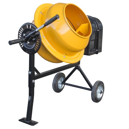 Pro-Series 1.25 Cubic Foot Electric Cement Mixer (Oshkosh Cement Mixer)