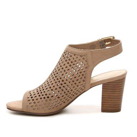 827b09ad3 Unisa - Unisa Womens Pryce Fabric Open Toe Casual Ankle Strap Sandals -  Walmart.com