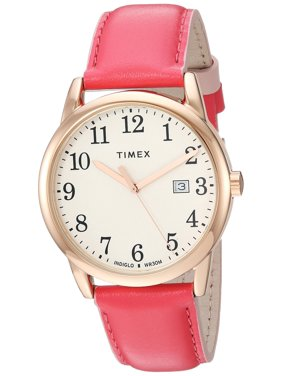 6ccce5bd0 Free shipping. Product Image Timex Womens Easy Reader 38mm Pink/Rose Gold-Tone  Leather Strap Watch TW2R62500