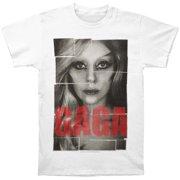 Lady Gaga Men's  Pop Blocks T-shirt White