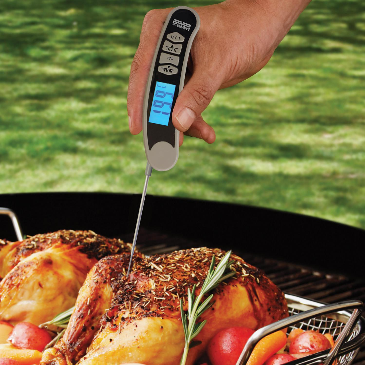 Maverick Instant Read Bbq Thermometer With Rotating Display