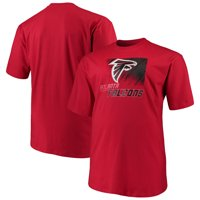 Men's Majestic Red Atlanta Falcons Big & Tall Reflective T-Shirt