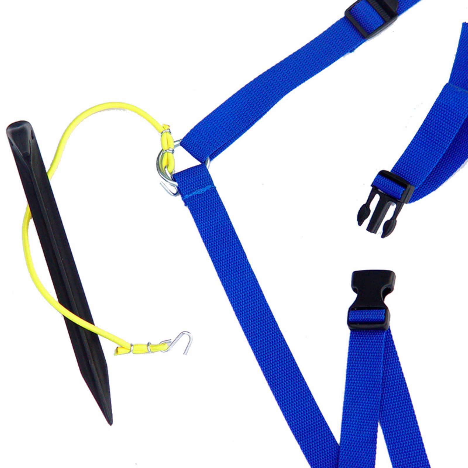 Park & Sun Adjustable 1 in. Volleyball Web Boundary