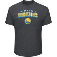 Men's Majestic Heathered Charcoal Golden State Warriors Major Moves T-Shirt