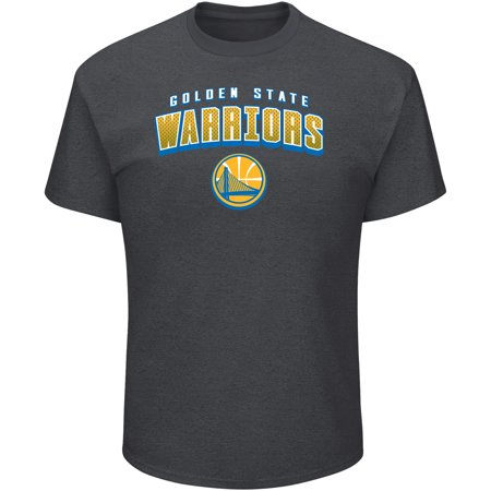 Men's Majestic Heathered Charcoal Golden State Warriors Major Moves T-Shirt](Golden State Warriros)