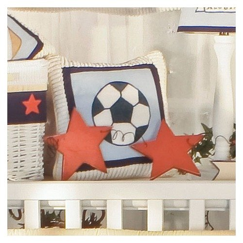 Brandee Danielle All Star Soccer Decorative Pillow