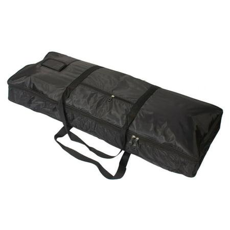 Reactionnx 61-Key Keyboard Bag, Electronic Piano Bag Case Carry Gig Bag  Adjustable and Portable Backpack Black