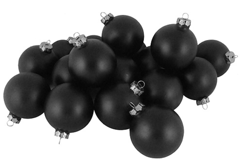 Black Christmas Ornaments