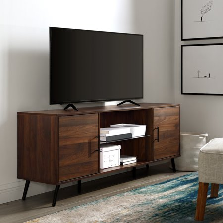 Moderna Tv Console - Manor Park Mid-Century Modern 2 Door TV Console for TV's up to 66