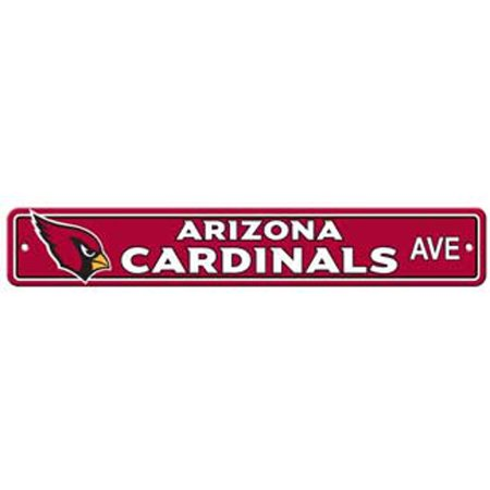 "Arizona Cardinals Ave Street Sign 4""x24"" NFL Football Team Logo Avenue Man Cave - image 1 of 1"