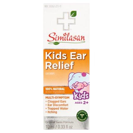 Similasan Relief enfants en santé gouttes de l'oreille Earache secours, .33 oz