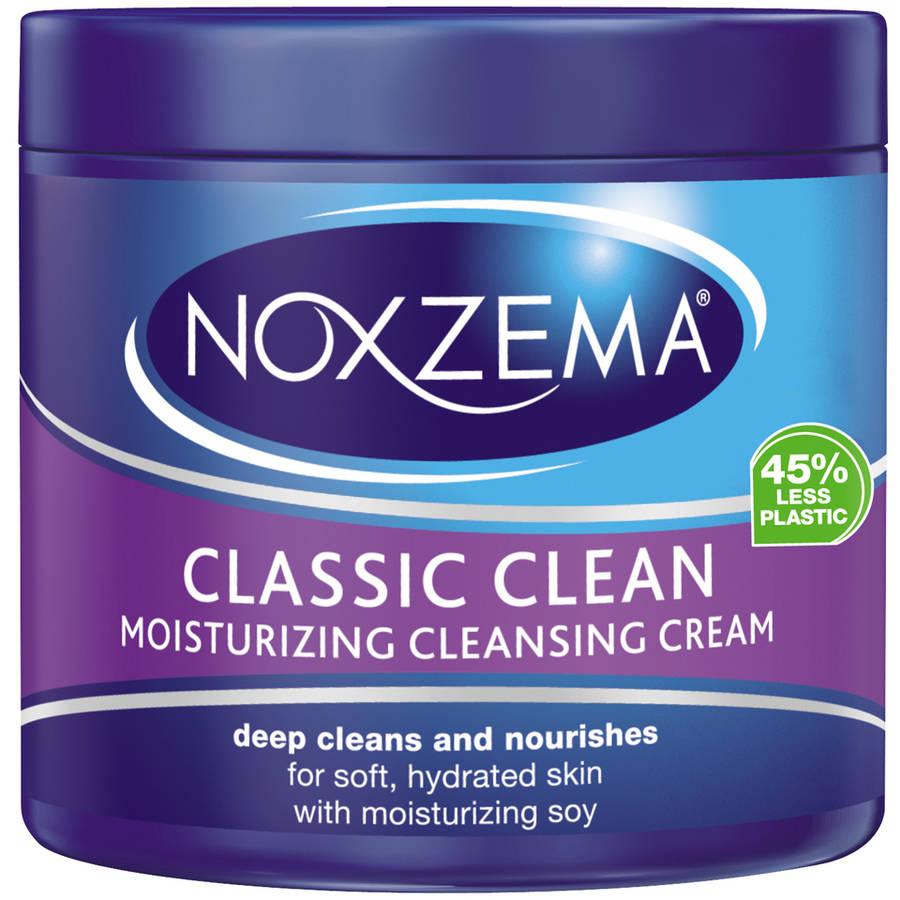 Noxzema Classic Clean Moisturizing Cleansing Cream, 12 fl oz