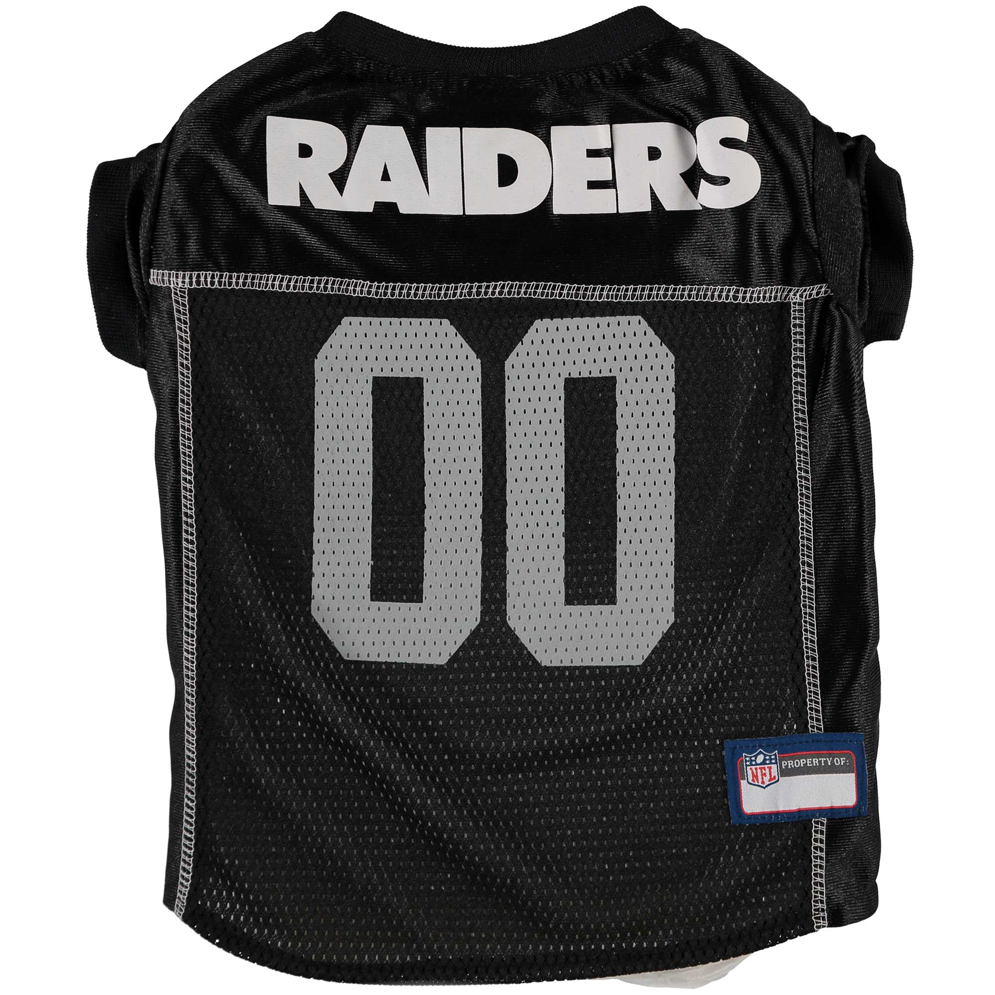 Oakland Raiders Mesh Dog Jersey